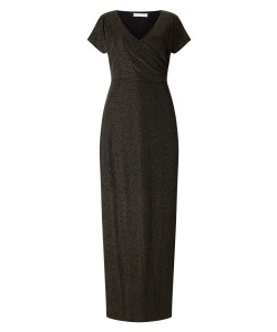 Jacques Vert Cross Front Maxi Dress Multi Black Dresses