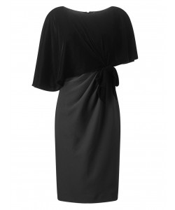 Jacques Vert Lorcan Velvet Dress Black Dresses