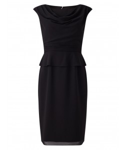 Jacques Vert Peplum Ggt Dress Black Dresses