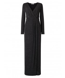 Jacques Vert Sparkle Jersey Maxi Dress Multi Black Dresses