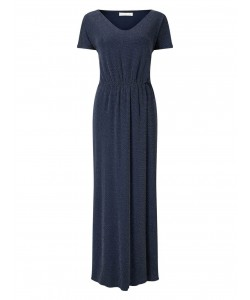 Jacques Vert Sparkle Maxi Dress Navy Dresses