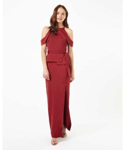 Phase Eight Amail Full Length Dress Pomegranate Dresses