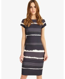 Phase Eight Annika Ombre Dress Grey/Navy Dresses