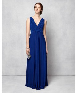Phase Eight Arabella Full Length Dress Cobalt Dresses