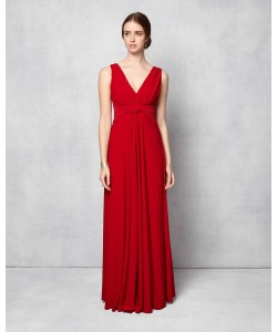 Phase Eight Arabella Full Length Dress Scarlet Dresses