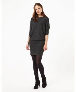 Phase Eight Becca Batwing Dress Charcoal Dresses
