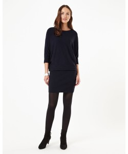 Phase Eight Becca Batwing Dress Navy Dresses