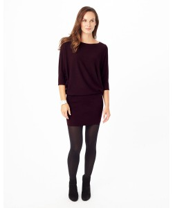 Phase Eight Becca Batwing Dress Wine Dresses