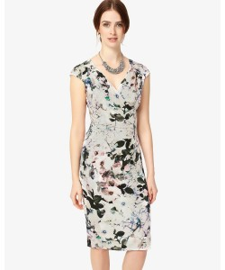 Phase Eight Carla Print Dress Multi-coloured Dresses