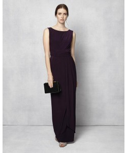 Phase Eight Cody Full Length Dress Grape Dresses