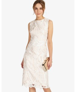 Phase Eight Devita Dress Cameo/Ivory Dresses