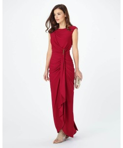 Phase Eight Donna Full Length Dress Scarlet Dresses