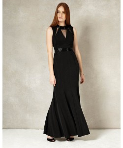 Phase Eight Emelda Full Length Dress Black Dresses