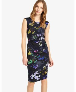 Phase Eight Emma Floral Print Dress Multi-coloured Dresses