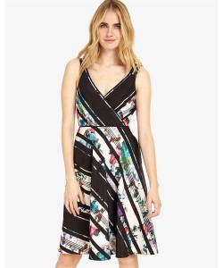Phase Eight Ethelda Printed Dress Black Dresses