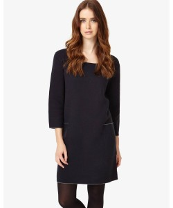 Phase Eight Giolla Pocket Knitted Dress Navy Dresses