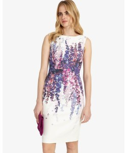 Phase Eight Jessica Floral Dress Ivory Dresses