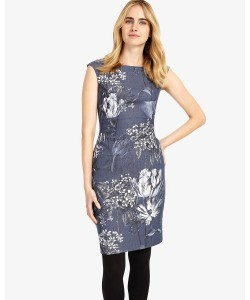 Phase Eight Mabel Print Dress Multi-coloured Dresses