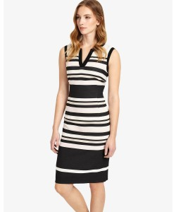 Phase Eight Paige Stripe Dress Multi-coloured Dresses