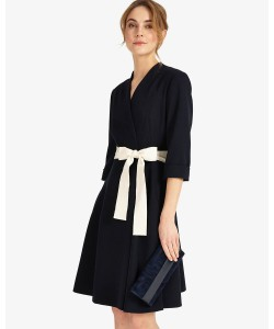 Phase Eight Perdita Wrap Dress Navy Dresses