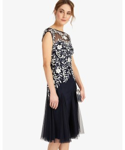 Phase Eight Ursula Tulle Dress Navy Dresses