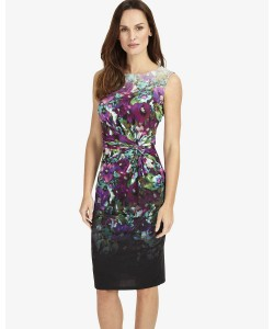 Phase Eight Wren Print Dress Multi-coloured Dresses