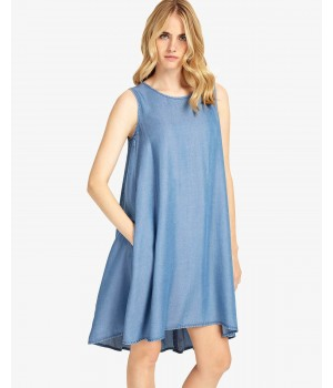 Phase Eight Bryony Chambray Dress Chambray Dresses