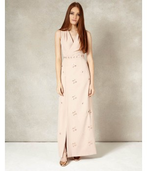 Phase Eight Estelle Full Length Dress Petal Dresses