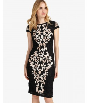 Phase Eight Perdy Tapework Dress Black Dresses