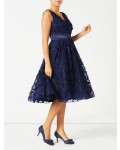 Jacques Vert Feather Sparkle Prom Dress Navy Dresses, Jacques Vert Item No.10044460