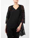 Jacques Vert Lace Shacket Black Dresses