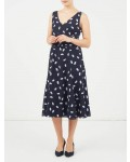 Jacques Vert Spotty Soft Prom Dress Multi Blue Dresses, Jacques Vert Item No.10045014