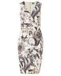 Phase Eight Botanical Print Dress Multi-coloured Dresses
