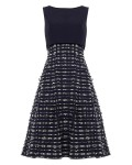 Phase Eight Bow Detail Dress Navy Dresses