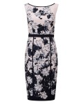 Phase Eight Dannan Floral Dress Black/Cameo Dresses