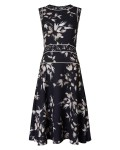 Phase Eight Darby Floral Dress Black Dresses