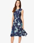 Phase Eight Ink Dresses Darla Floral Dress | jacquesvertdressuk.com