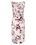 Phase Eight Hana Blossom Dress Champagne Dresses