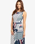 Natalie Stripe Maxi Dress | Multi-coloured  | Phase Eight