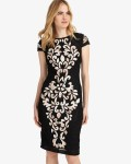Phase Eight Black Dresses Perdy Tapework Dress | jacquesvertdressuk.com