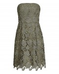 Reiss Demetra Bright Sage Strapless Lace Dress 29722551,Reiss STRAPLESS LACE DRESSES