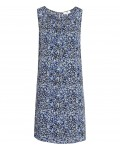 Reiss Lacey Multi Blue Printed Shift Dress 29716430,Reiss PRINTED SHIFT DRESSES